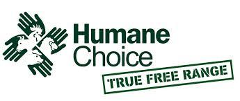 Humane Choice logo is proof of real free range eggs