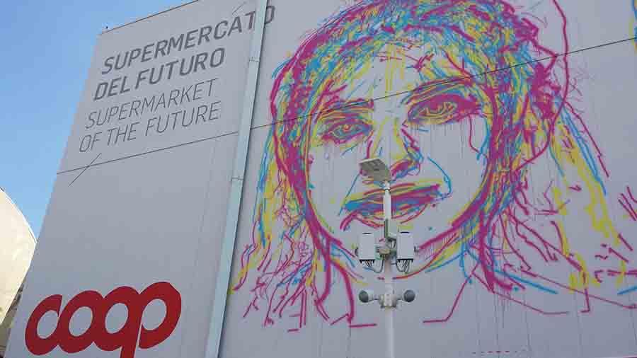 Coop pavilion Milan Expo