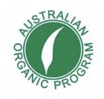 Australian organic logo